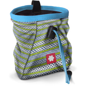 Ocun Lucky Chalk Bag with Belt, ropes green